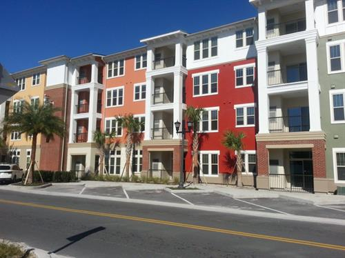 Station House Luxury Apartments (Lake Mary, FL) multifamily, green building certified (NGBS)