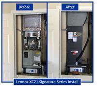 Lennox XC21 Signature Series Install