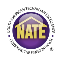 Many of our AC technicians are NATE certified