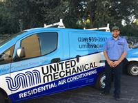 United Mechanical, Inc. HVAC technicians are on standby