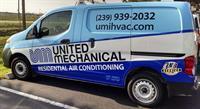 Residential HVAC van