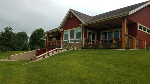 Hurley home finished - Harrisburg, SD