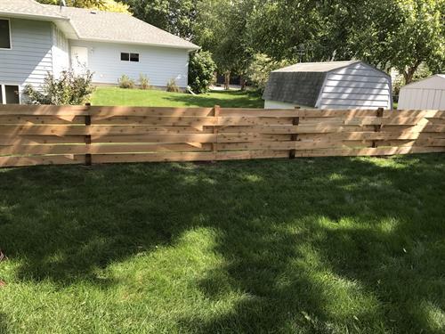 4' Basket Weave Cedar
