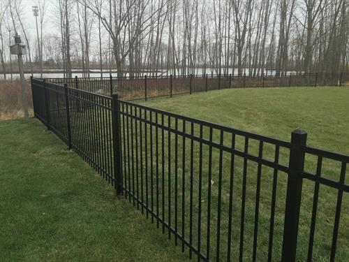 4' Black Ornamental Iron