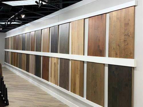 Beautiful selection of Engineered Wood and Solid Wood.