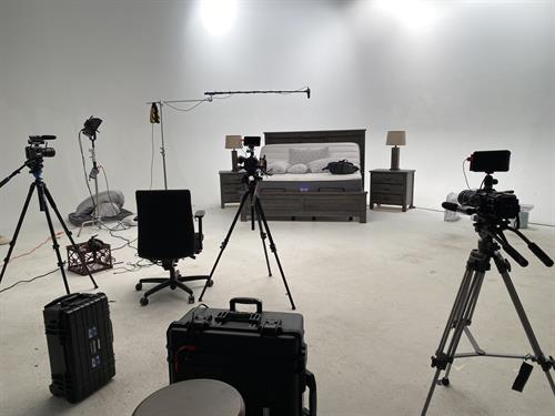 We can shoot in-studio for that professional look.
