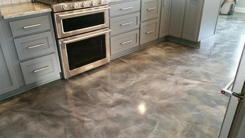 Metallic Floor Coating