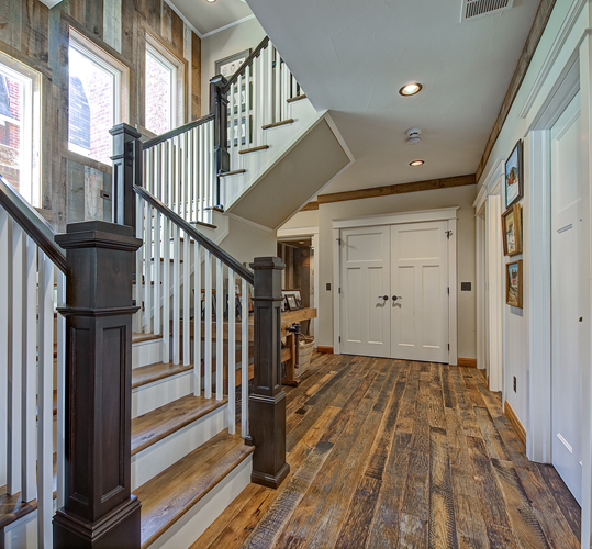 Reclaimed Materials in Residence