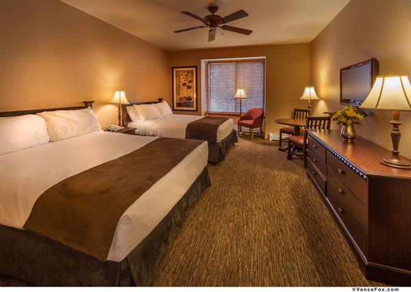 Accommodations for groups of any size--from standard bedrooms to 3 bedroom townhouses.