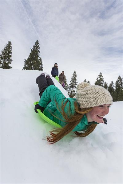 Ski and sledding hill onsite--half priced for lodging guests!