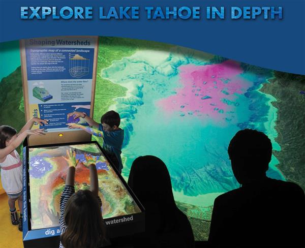 Tahoe Science Center exhibits