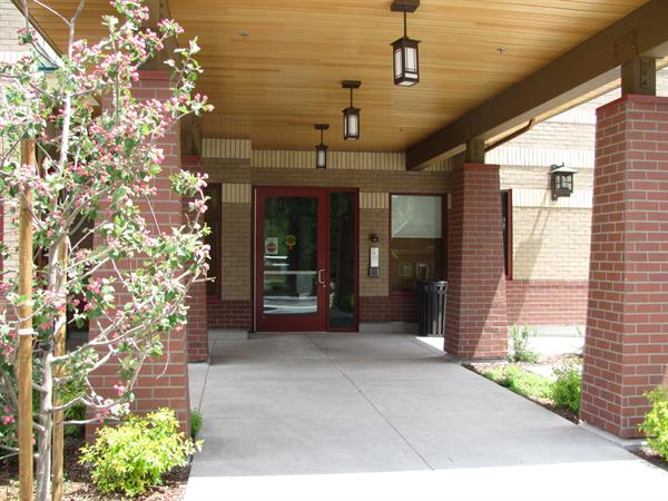 Long Term Care Center entrance