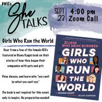She TALKS: Girls Who Run the World
