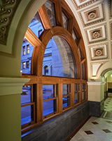 John Adams Courthouse - Windows