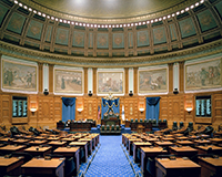 House of Representatives, MA State House - Paneling Restoration