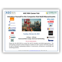 AGC MA to Host its Second Career Fair at Fitchburg State University