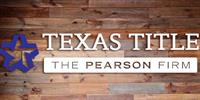 Texas Title-The Pearson Firm