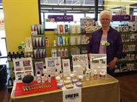 Emu Oil Products on display.