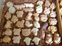 Cute critter soaps for the kids!