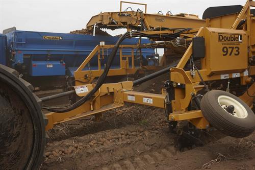 Alsum Farms potato harvesting equipment