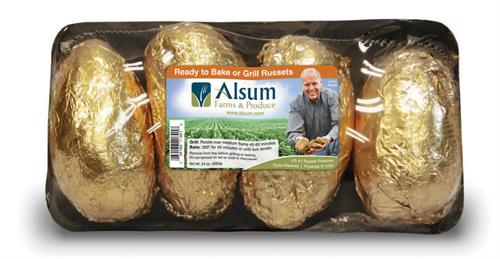 4 ct Griller Russet Potatoes - a value added potato offering