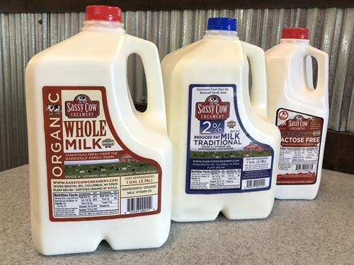 Organic and Traditional Milk