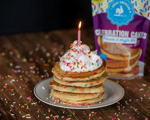 Celebration Cakes Pancake & Waffle Mix