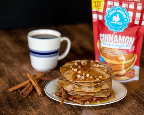 Cinnamon Pancake & Waffle Mix