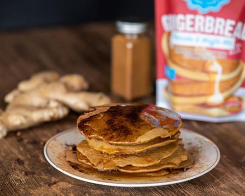 Gingerbread Pancake & Waffle Mix
