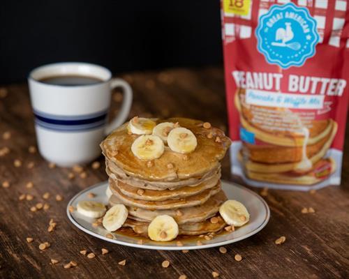 Peanut Butter Pancake & Waffle Mix