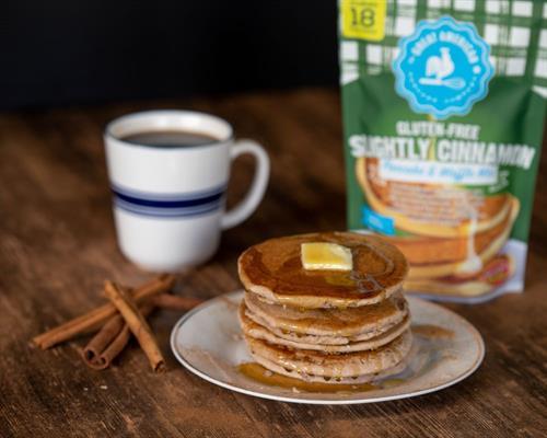 Slightly Cinnamon Gluten Free Pancake & Waffle Mix