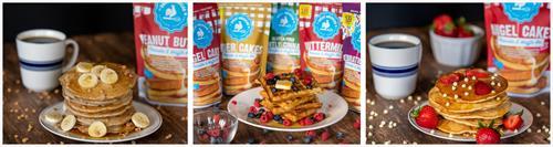 10 Varieties of hand-crafted gourmet pancake/waffle mixes