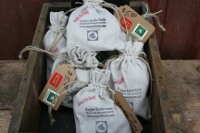 "A popular item is our ""grow your own garlic kits"" with included instructions."