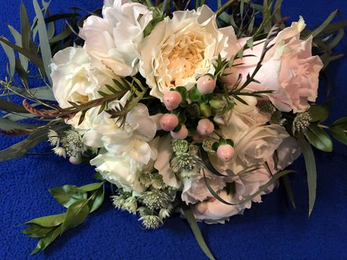 Wedding Bouquets, custom created with your favorite flowers.