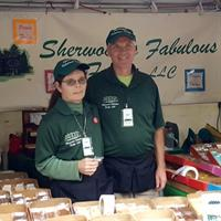 Jon and Holly - Creators of Sherwood's Fabulous Fudge - Homemade