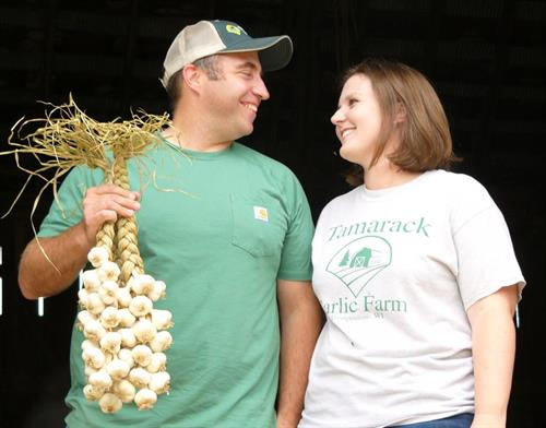 Gourmet garlic from Wsconsin