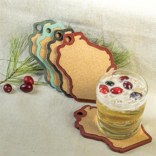 Cork Topped Coasters