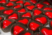 Calvados Heart Truffles