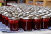 Fresh Local Jam right out of the canner