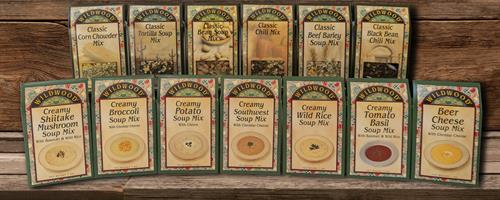 Classic and Creamy Soup Mixes