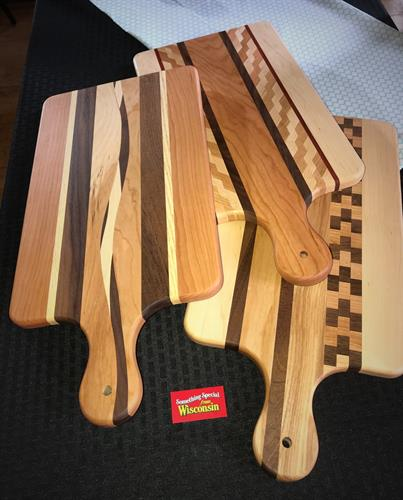 Just a few cutting boards lying around showing off