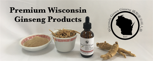 Wisconsin Grown Ginseng LLC Premium Wisconsin Ginseng Products