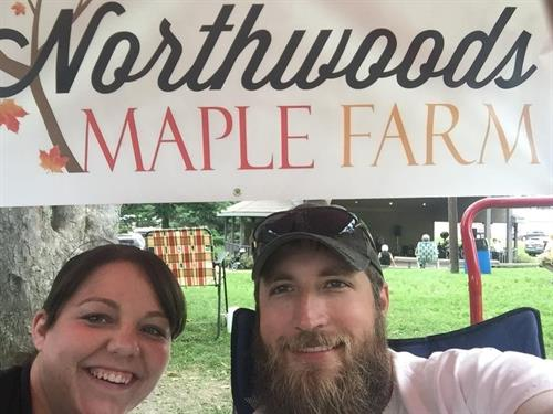 Rebecca & Anthony Renken Founders of Northwoods Maple Farm