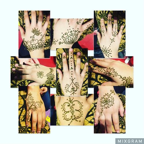 Freestyle Non Traditional Henna Tattoos