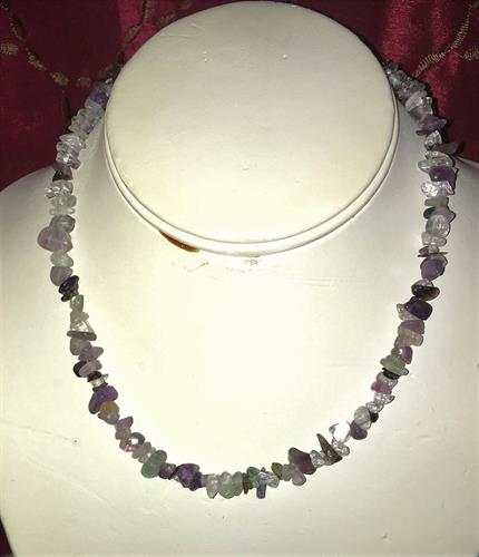 Assorted Crystals Necklace