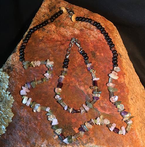 Various Crystals/Wood