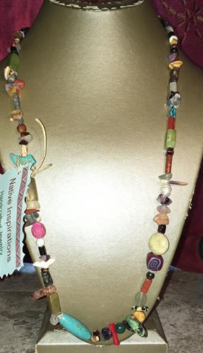 Navajo Style Treasure Necklace