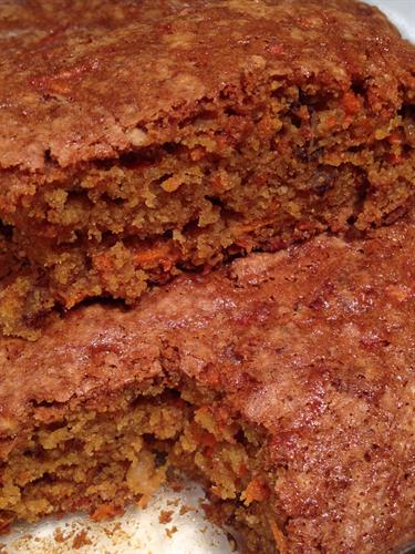 Gluten-free Carrot Cake! Needs No Icing.