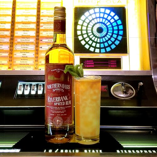 Riverbank Spiced Rum - Perfect for a cozy Staycation!