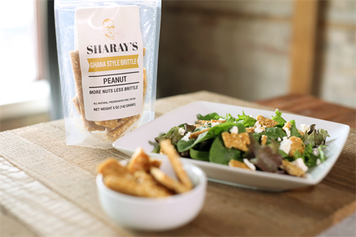 Jazz up your lunch with our extra nutty brittle.